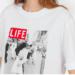 camiseta life beso
