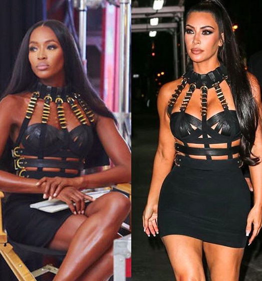 Kim copia a Naomi