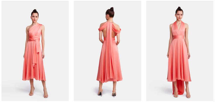 vestido multiposición