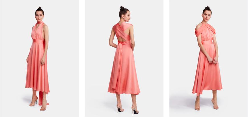 vestido de invitada