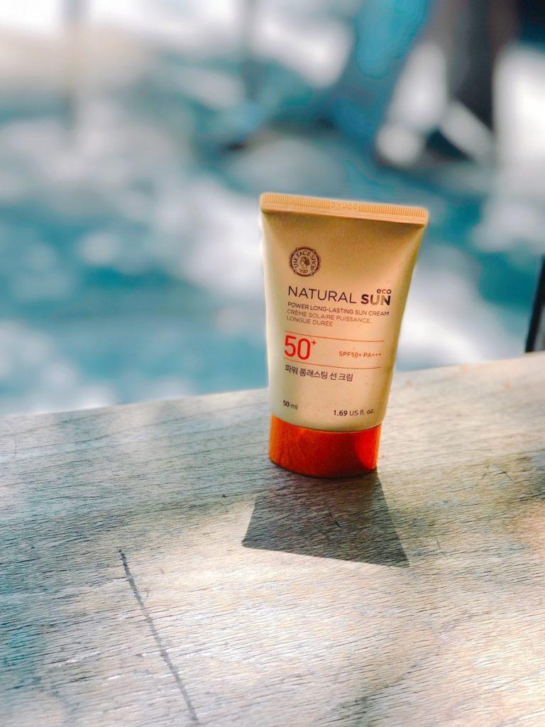productos crema de sol