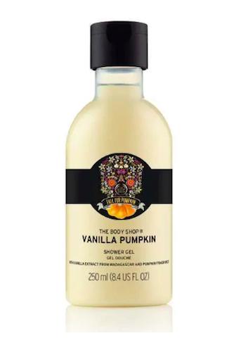 Vanilla pumpkin shower gel by The Body Shop