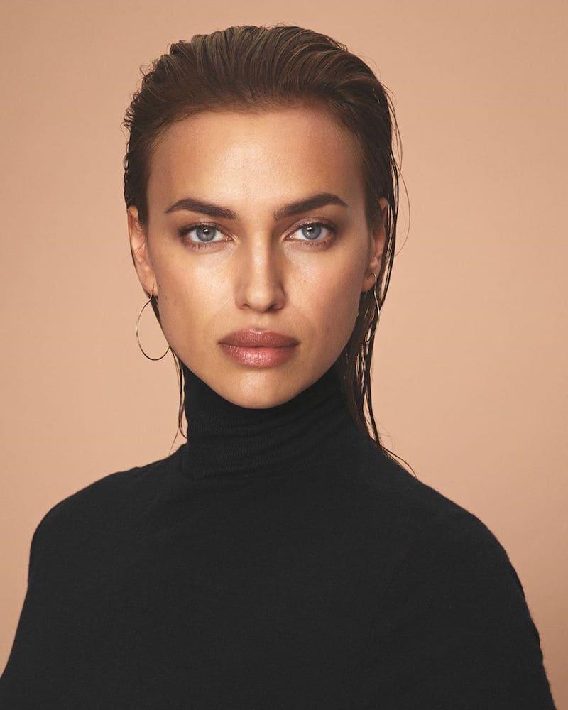 Irina Shayk maquillada