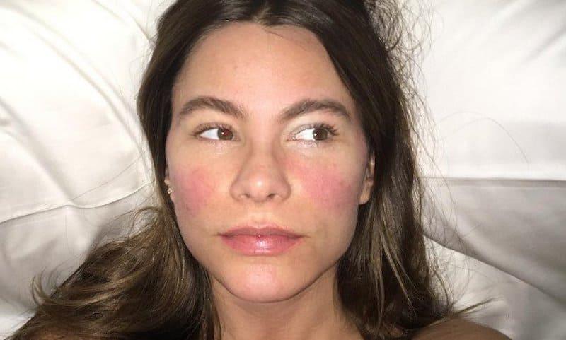 Sofía Vergara sin maquillaje