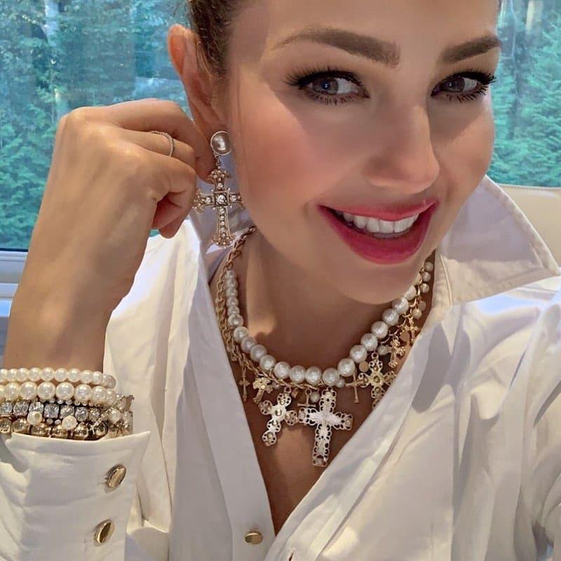 Thalía maquillada