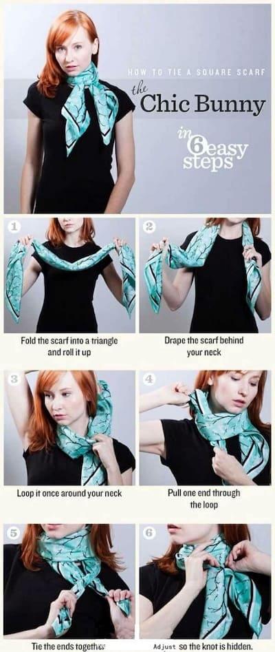 Las 5 mejores formas de llevar una bufanda con estilo