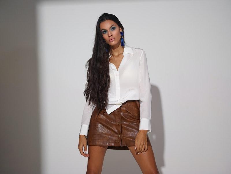 blusa de moda blanca